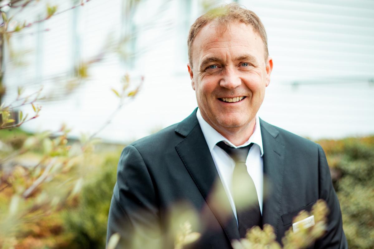 Kalle Mersland smiler